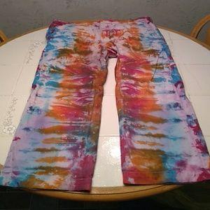 Mens 38/30 Tye Dye jeans Banana Republic.   2